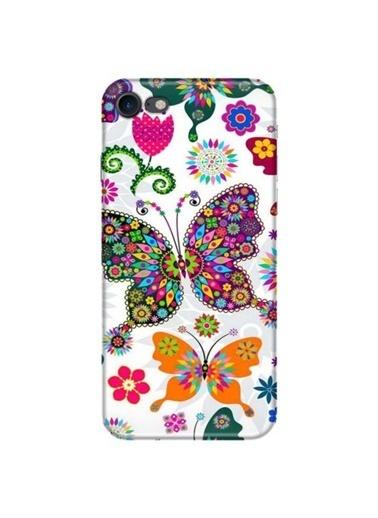 People's Cover iPhone 7 Baskılı Telefon Kılıfı Renkli